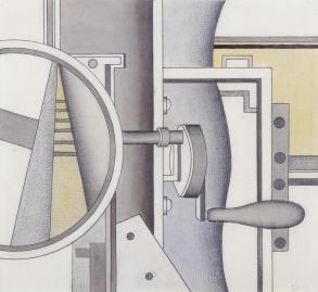 Mechanical Elements 1926 by Fernand L?ger 1881-1955